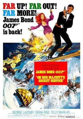 Phim Điệp Viên 007: Điệp Vụ Nữ Hoàng - Bond 6: On Her Majesty's Secret Service (1969)