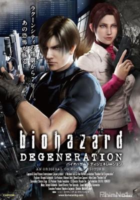 Phim Vùng Đất Quỷ Dữ: Sự Thoái Hóa - Resident Evil: Degeneration (2008)