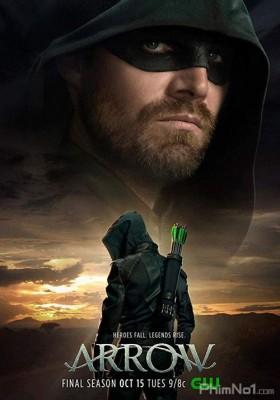 Phim Mũi Tên Xanh: Phần 8 - Arrow Season 8 (2019)