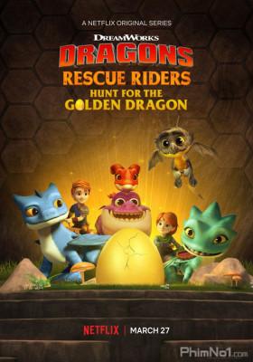 Phim Biệt Đội Giải Cứu Rồng: Săn Rồng Vàng - Dragons: Rescue Riders: Hunt for the Golden Dragon (2020)