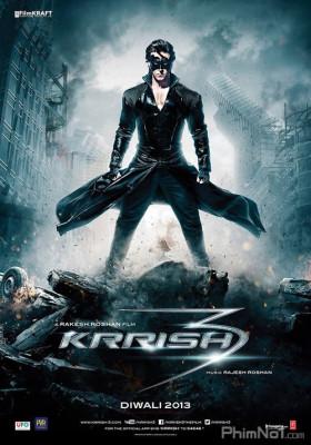 Phim Siêu Nhân Ấn Độ 3 - Krrish 3 (2013)