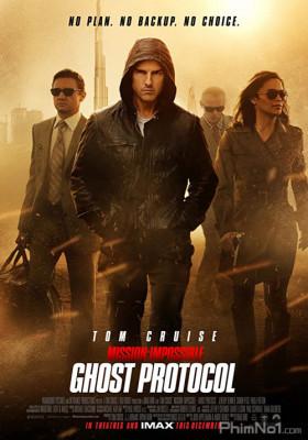 Phim Nhiệm Vụ Bất Khả Thi 4: Chiến Dịch Bóng Ma - Mission: Impossible 4 - Ghost Protocol (2013)