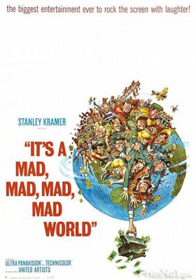 Phim Thế Giới Điên Cuồng - It's a Mad Mad Mad Mad World (1963)