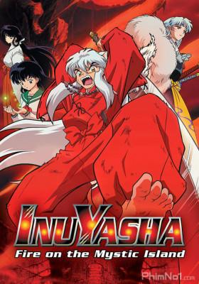 Phim InuYasha Movie 4: Guren no Houraijima - InuYasha the Movie 4: Fire on the Mystic Island (2004)