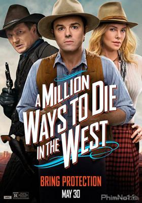 Phim Triệu kiểu chết miền viễn Tây - A Million Ways to Die in the West (2014)
