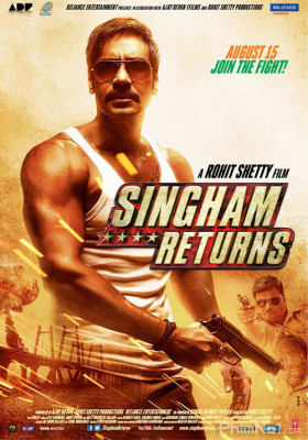 Phim Chàng Cảnh Sát Singham Trở Lại - Singham Returns (2014)