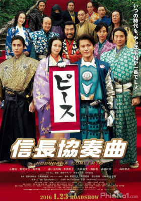 Phim Anh Chàng Vượt Thời Gian (Live-action Movie) - Nobunaga Concerto: The movie (Live-action) (2016)