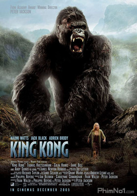 Phim King Kong Và Người Đẹp - King Kong (2005)