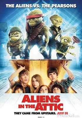 Phim Quái Vật Trên Gác Xếp - Aliens in the Attic (2009)