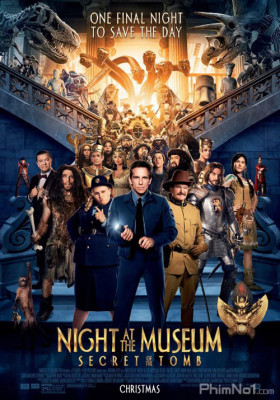Phim Đêm Ở Viện Bảo Tàng: Bí Mật Hầm Mộ - Night at the Museum: Secret of the Tomb (2014)