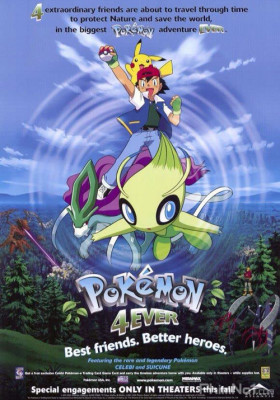 Phim Pokemon Movie 4: Celebi và Cuộc Gặp Gỡ Vượt Thời Gian - Pokemon 4Ever (2001)