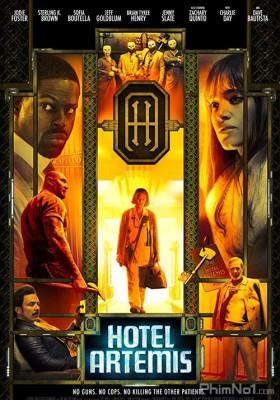 Phim Khách Sạn Tội Phạm - Hotel Artemis (2018)